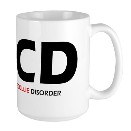 Obsessive Collie Disorder Large Mug