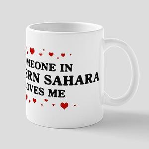 Loves Me in Western Sahara Mug