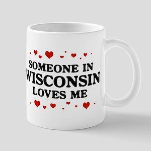 Loves Me in Wisconsin Mug