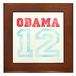 OBAMA 12 Framed Tile