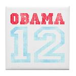 OBAMA 12 Tile Coaster