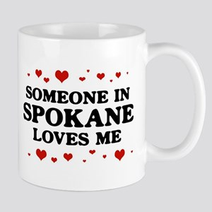Loves Me in Spokane Mug