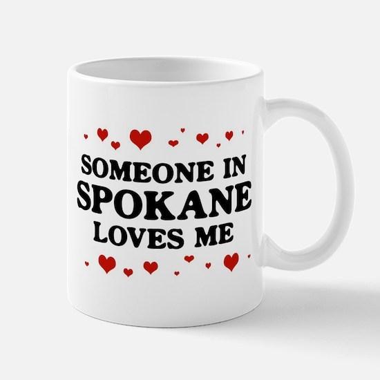 Loves Me in Spokane Mug