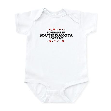 Loves Me in South Dakota Infant Bodysuit