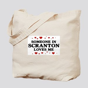 Loves Me in Scranton Tote Bag