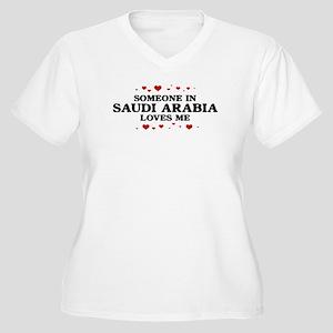 Loves Me in Saudi Arabia Women's Plus Size V-Neck