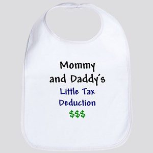 Mommy & Daddy's Little Tax Deduction Bib