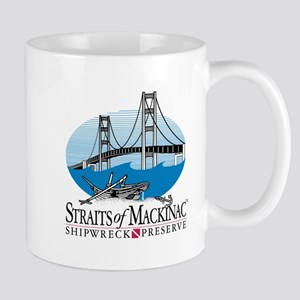 Mackinac Bridge Logo Mug