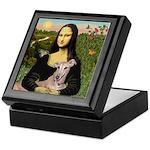 Mona Lisa / Greyhound #1 Keepsake Box