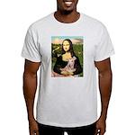 Mona Lisa / Greyhound #1 Light T-Shirt