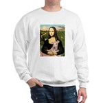 Mona Lisa / Greyhound #1 Sweatshirt