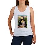 Mona Lisa / Greyhound #1 Women's Tank Top