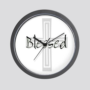 Blessed! Wall Clock
