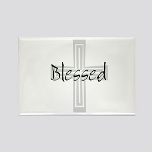 Blessed! Rectangle Magnet