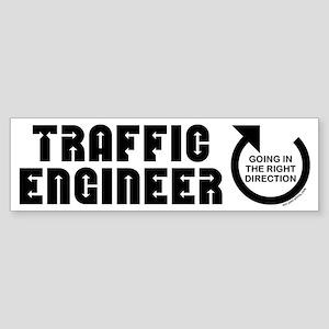 Traffic Engineer Direction Bumper Sticker