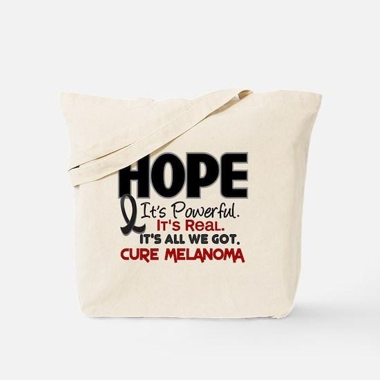 HOPE Melanoma 1 Tote Bag