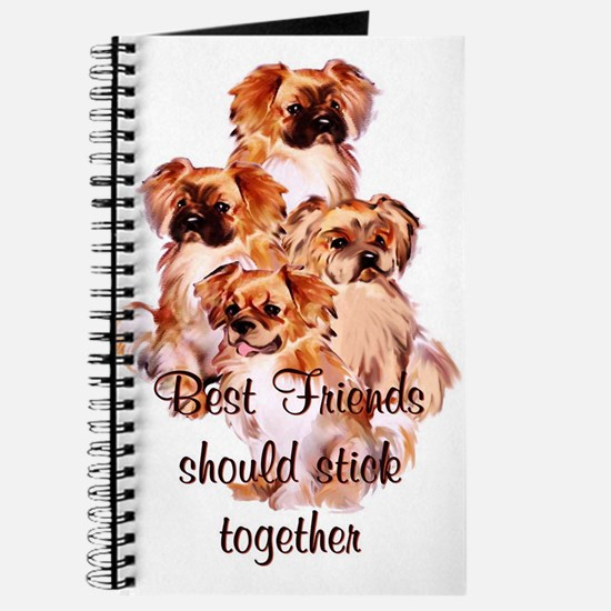 Tibetan Spaniel friends Journal