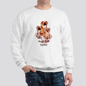 Tibetan Spaniel friends Sweatshirt