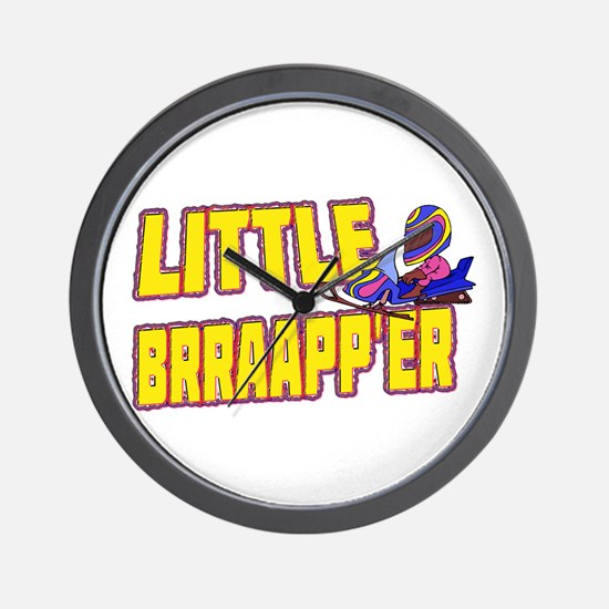 Little Brraapp'er Wall Clock