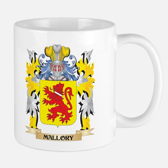 Mallory Coat of Arms - Family Crest Mugs