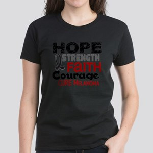 HOPE Melanoma 3 Women's Dark T-Shirt