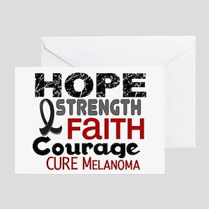 HOPE Melanoma 3 Greeting Card
