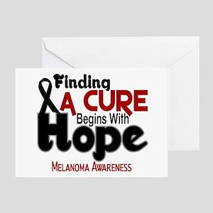 HOPE Melanoma 5 Greeting Card