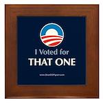 """""""That One"""" Framed Tile"""