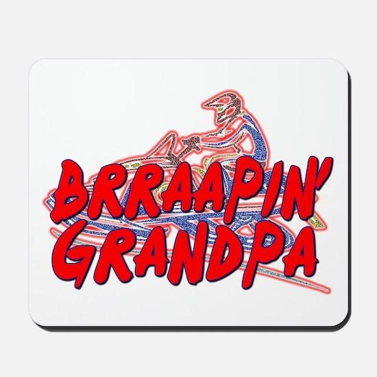Brraapin' Grandpa Mousepad