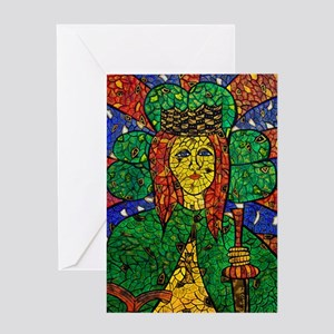 St. Dymphna Greeting Card