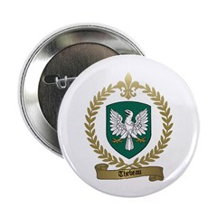 THEBEAU Family Crest Button