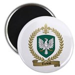 THEBEAU Family Crest Magnet