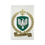THEBEAU Family Crest Rectangle Magnet (100 pack)