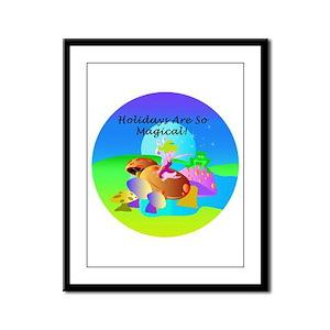 """Magical Fairies"" Framed Panel Print"
