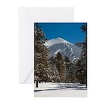5x7 Note Cards (Pk of 10) Agassiz Peak AZ