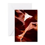 5x7 Note Cards (Pk of 10) Clown Fish Rock