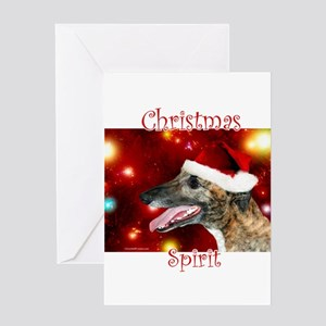 Brindle Spirit Greeting Card