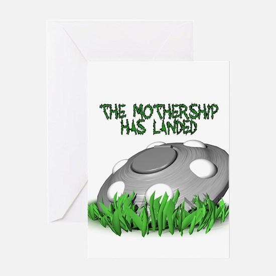 Mothership Greeting Card