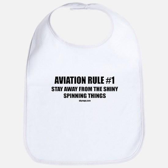 AVIATION RULE #1 Bib