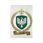 THEBAU Family Crest Rectangle Magnet (10 pack)