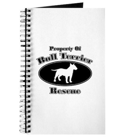 Property of Bull Terrier Resc Journal