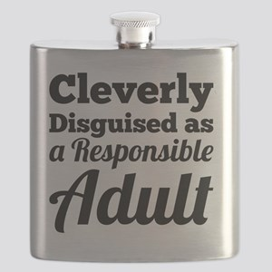 Cleverly Disguised as a Responsible Adult Flask