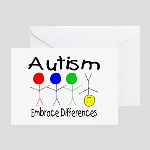 Autism, Embrace Differences Greeting Card