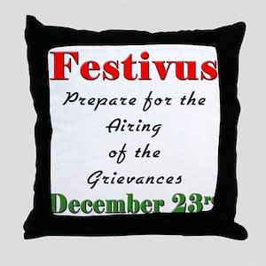 FESTIVUS™ Airing Throw Pillow