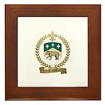TESTARD Family Crest Framed Tile