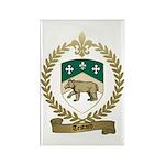 TESTARD Family Crest Rectangle Magnet (100 pack)