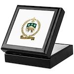 TESTARD Family Crest Keepsake Box