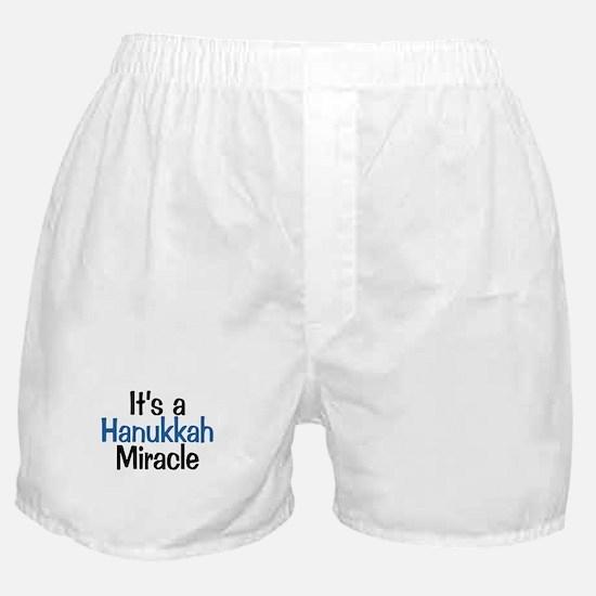 Hanukkah Miracle Boxer Shorts