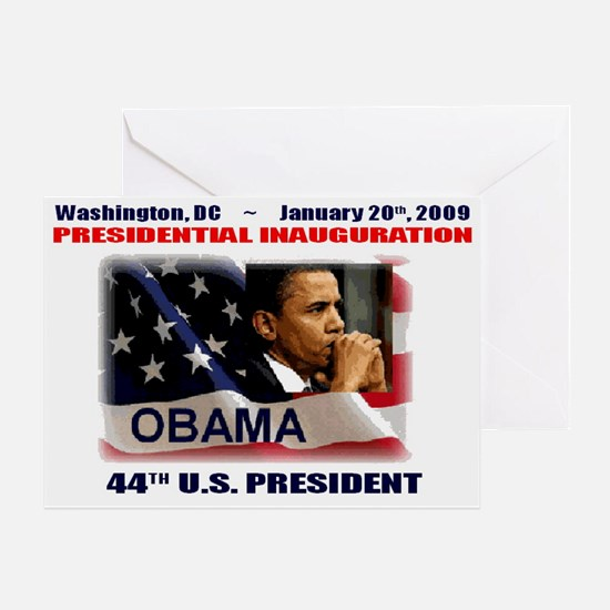 Unique 44th president Greeting Card
