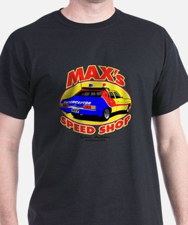 Max's Speed Shop T-Shirt